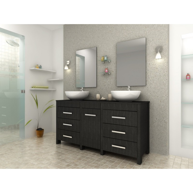 meuble salle de bain romantique maison design. Black Bedroom Furniture Sets. Home Design Ideas