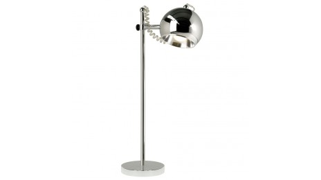 Anne - Lampe de table design chrome
