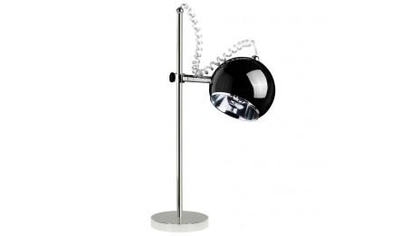 Anne - Lampe de table design noire