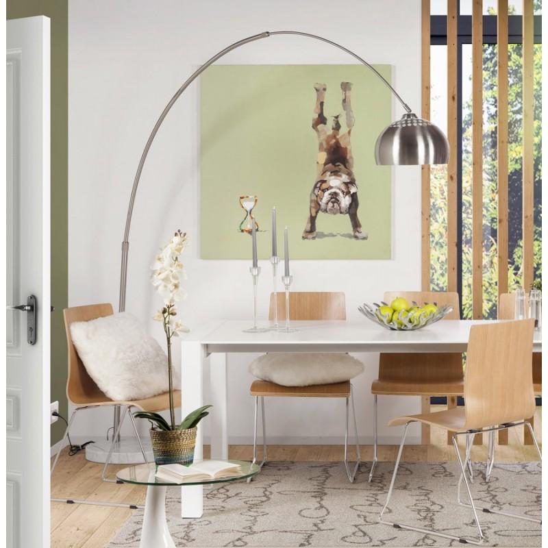 Lampadaire kaw xxl style ann es 70 tr s design id al pour le salon - Lampadaire deporte design ...