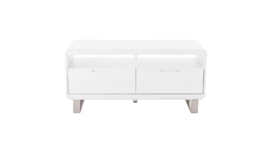 Meuble T L Blanc Laqu Design 1 M Tre Paris Delorm Design