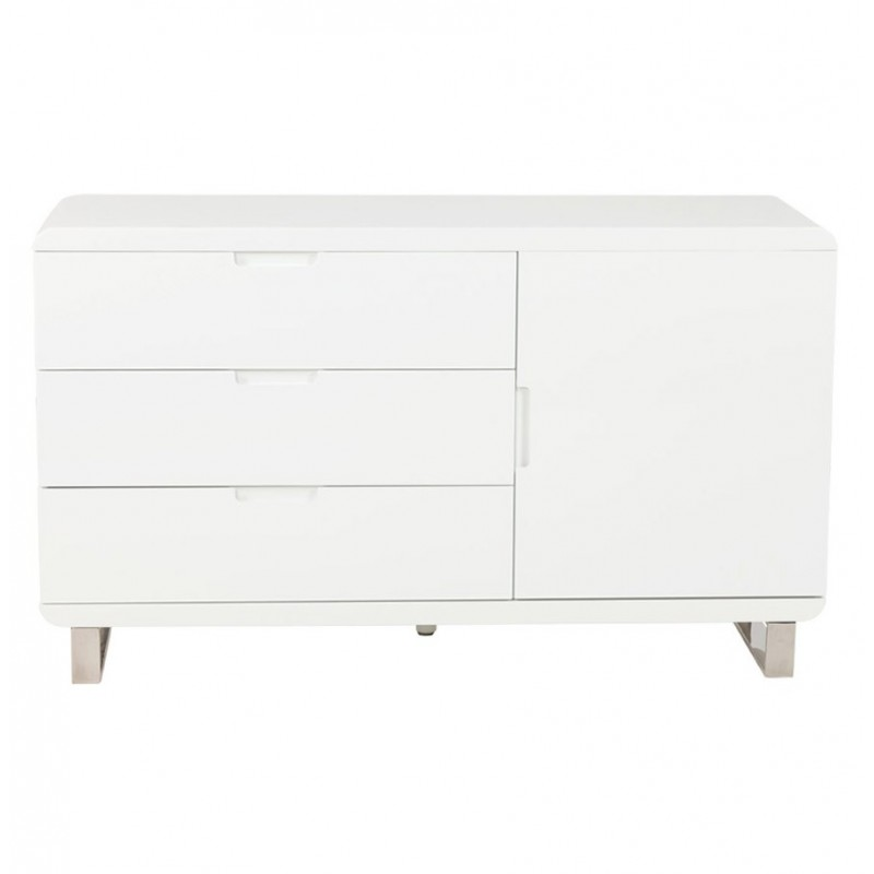 buffet laque blanc ikea maison design. Black Bedroom Furniture Sets. Home Design Ideas