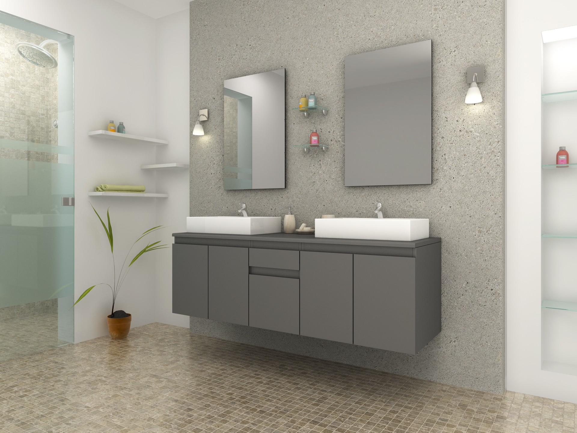 Best ensemble salle de bain pas cher photos lalawgroup - Placard salle de bain pas cher ...