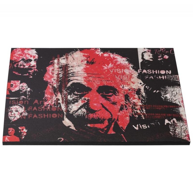Al tableau toile imprim e albert einstein 120 x 90 cm - Tableau toile imprimee ...