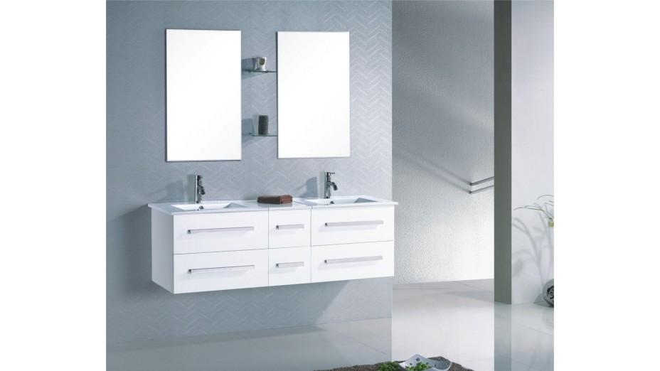 meuble salle de bain moderne pas cher ensemble salon design blanc brillant pas cher cbc meubles. Black Bedroom Furniture Sets. Home Design Ideas