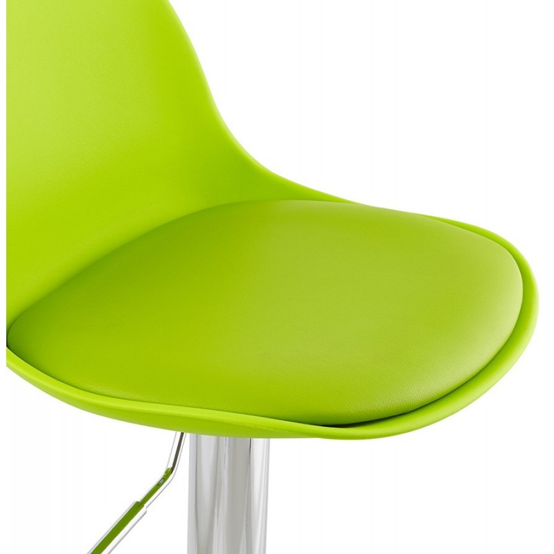 jelly tabouret de bar r glable assise verte. Black Bedroom Furniture Sets. Home Design Ideas