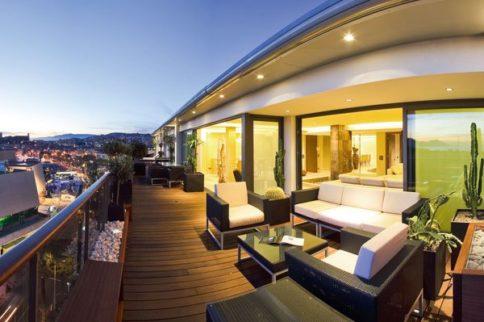 salon de jardin en terrasse. Black Bedroom Furniture Sets. Home Design Ideas