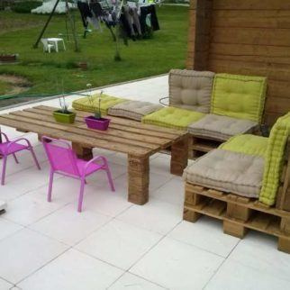 Salon de jardin en palette le guide diy ultime blog for Modele de fauteuil en palette