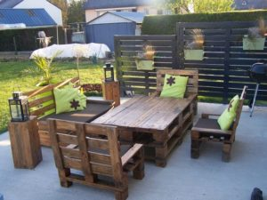 Salon palette diy 3 - Les jardins au bout du monde outdoor furniture ...