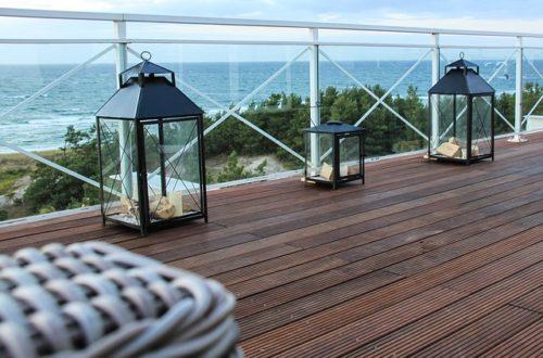 Déco terrasse - photo avec lanternes