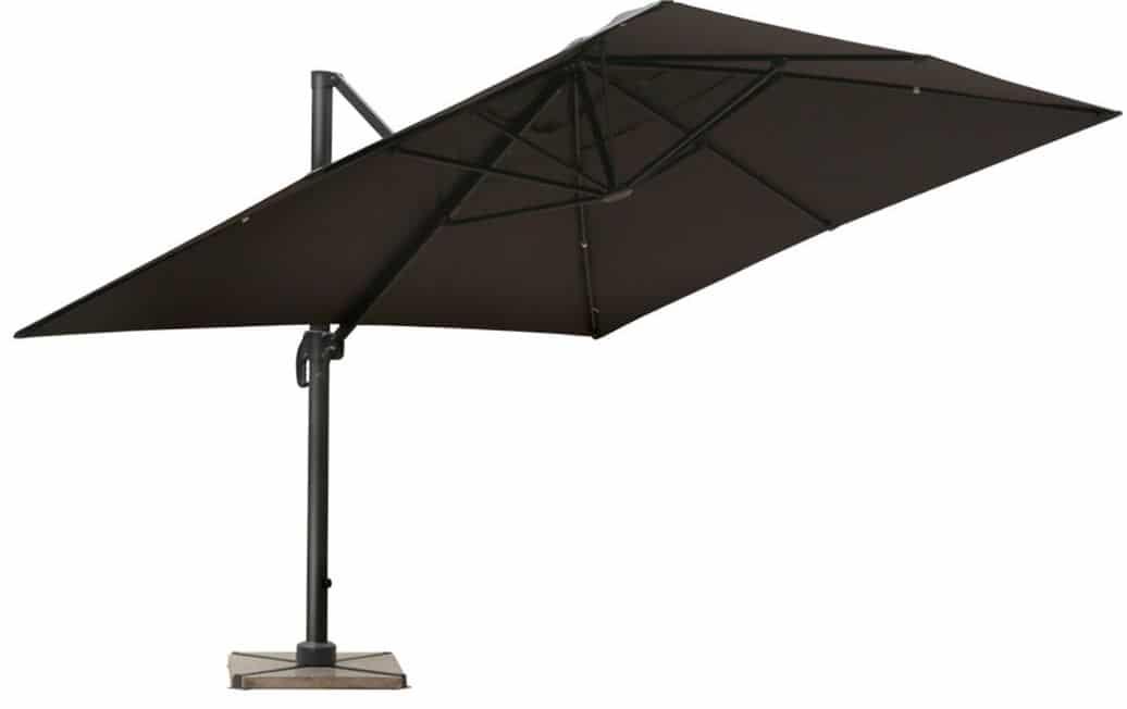 parasol rectangulaire inclinable haut de gamme. Black Bedroom Furniture Sets. Home Design Ideas