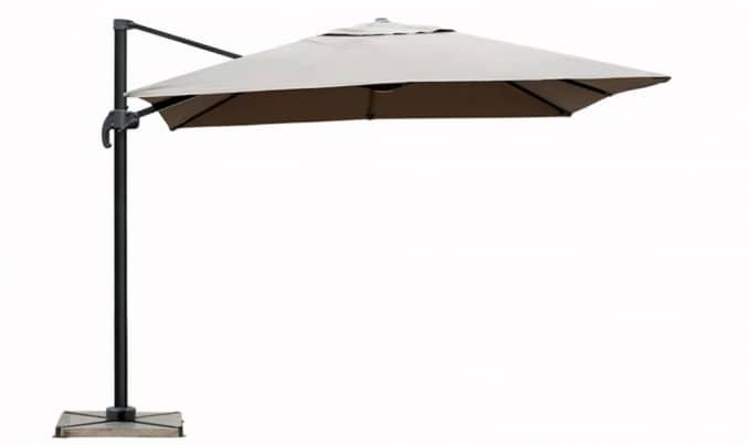 delorm parasol deporte gris. Black Bedroom Furniture Sets. Home Design Ideas