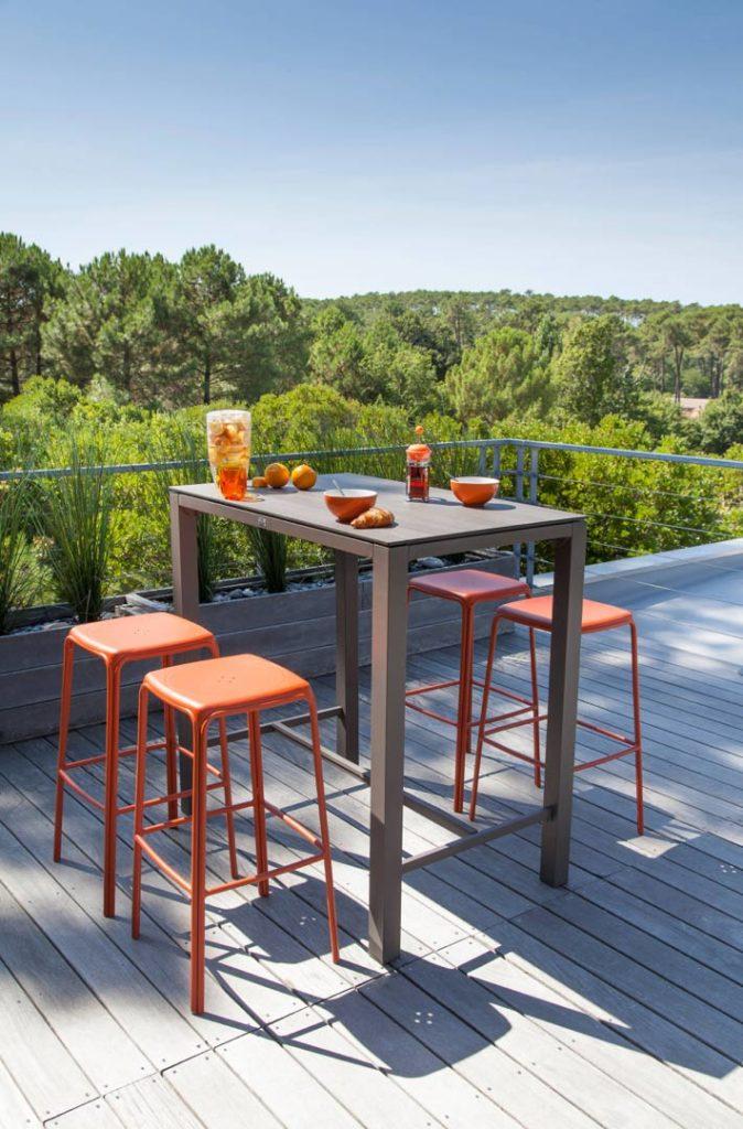 Relooker son mobilier de jardin contemporain - Le Blog Delorm