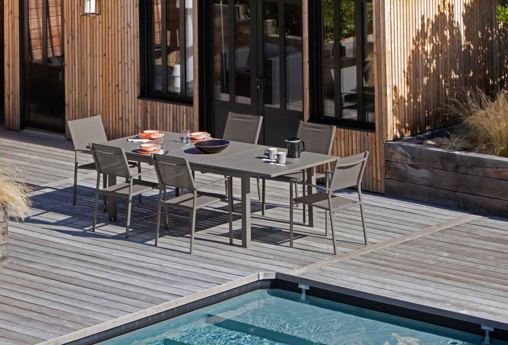 mobilier jardin haut de gamme incroyable mobilier de. Black Bedroom Furniture Sets. Home Design Ideas