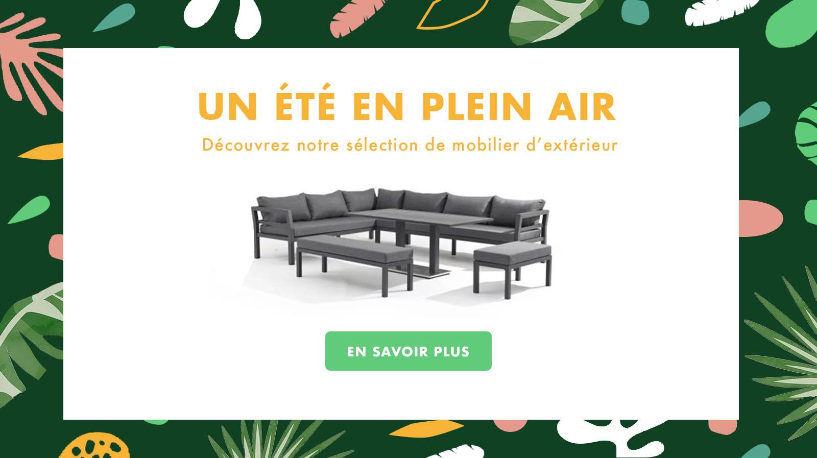 Delorm Design Mobilier D Exterieur Meuble Design Vu Sur Capital M6