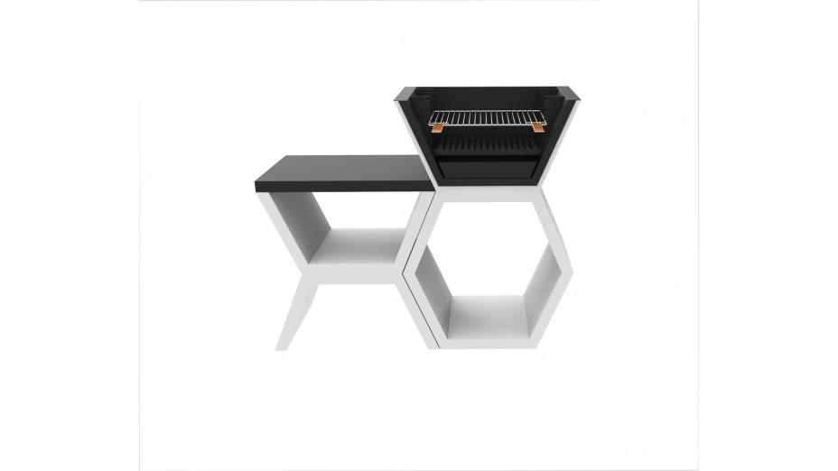 MOD 04 - Barbecue moderne en béton
