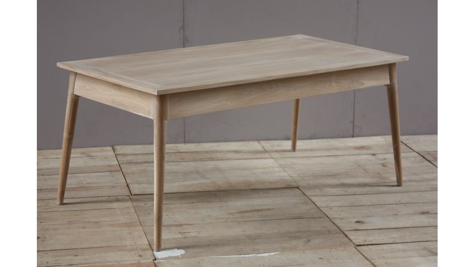 FIFTEES TABLE 180 - Table en teck massif