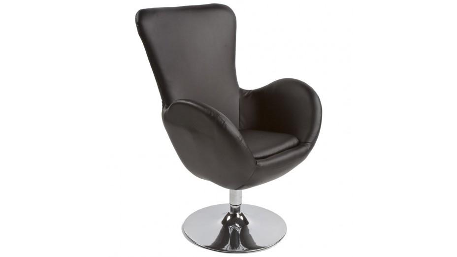mudos fauteuil moderne simili cuir noir Résultat Supérieur 50 Nouveau Fauteuil Moderne Photographie 2017 Kse4