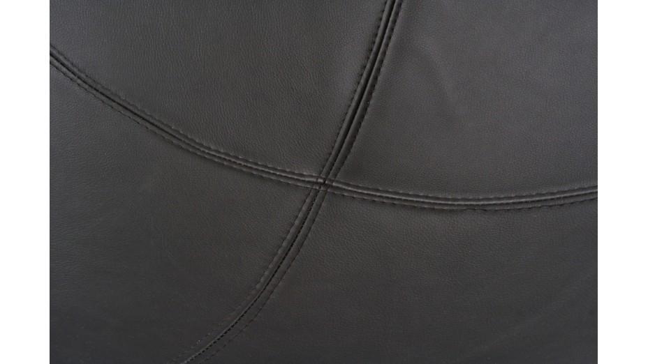 KKO - Fauteuil boule ABS rouge et noir