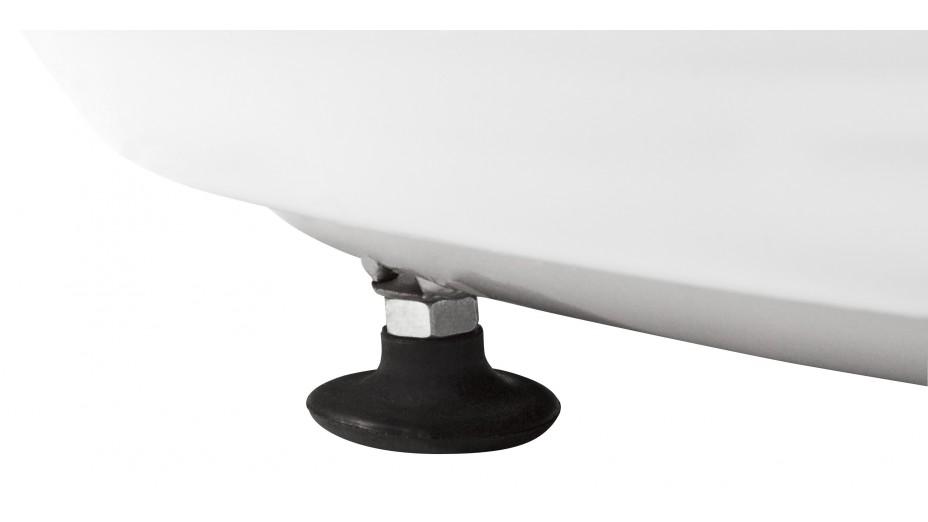 KKO - Fauteuil boule ABS blanc