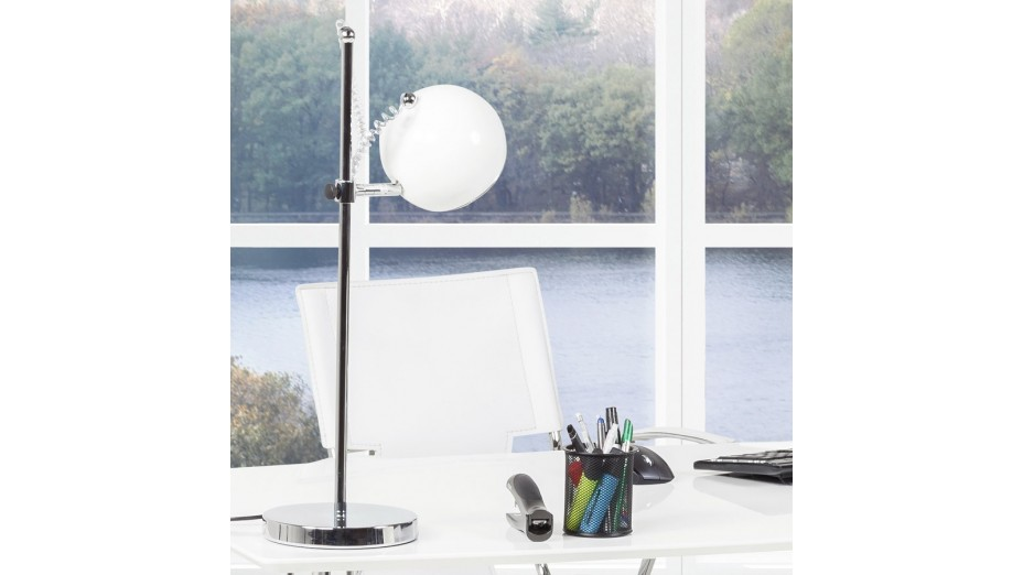 Anne - Lampe de table design blanche