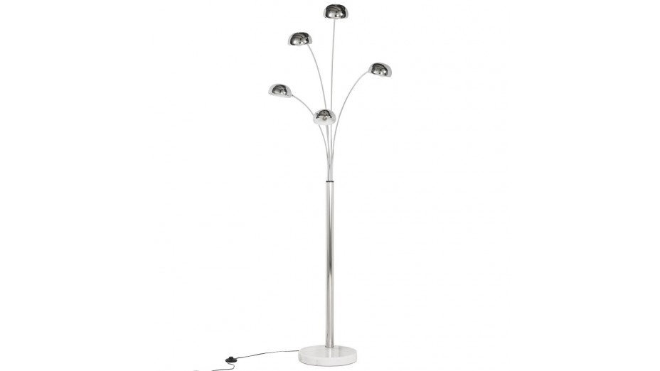 Galaxy - Lampadaire chrome design
