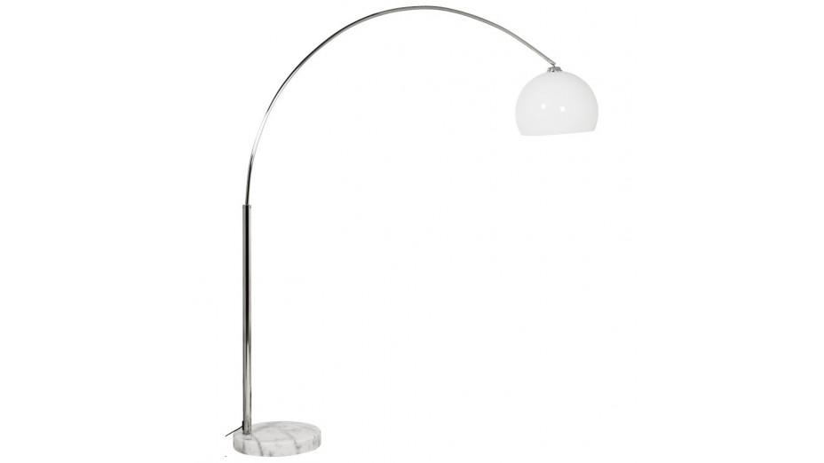 Kaw XL- Lampadaire blanc arc 195 cm