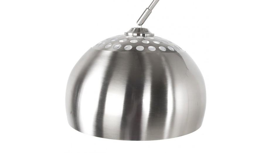 lampadaire design xxl chrome arc