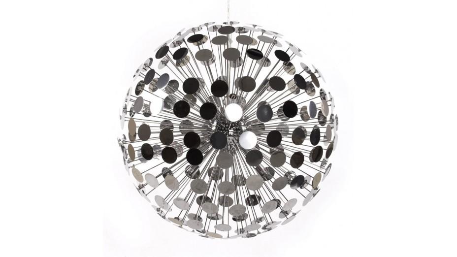Facet - Suspension métal chromé