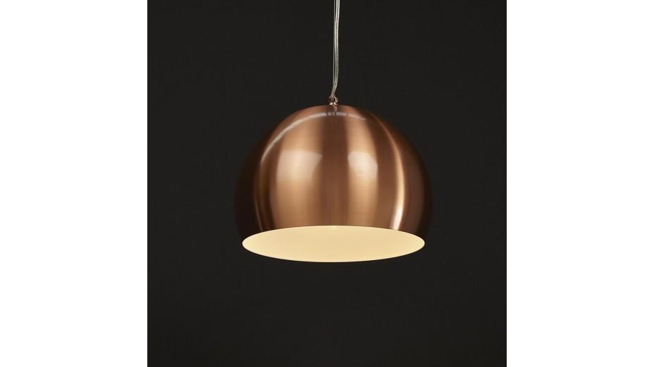 Gop - Suspension boule coloris cuivre