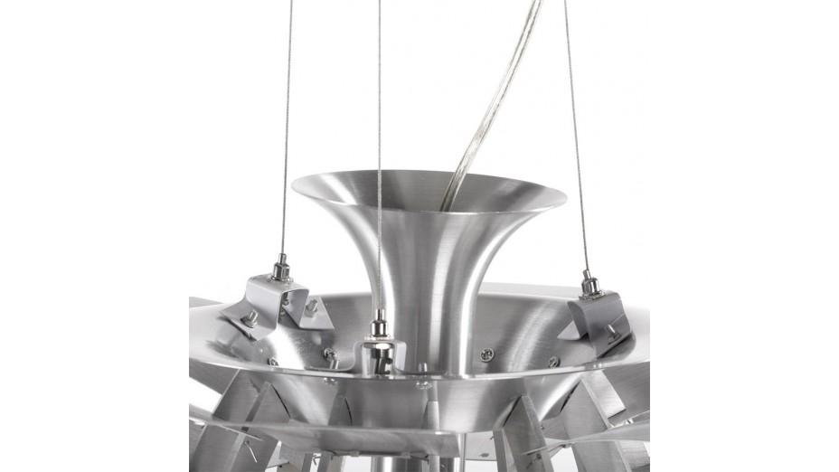 Nina - suspension aluminium brossé
