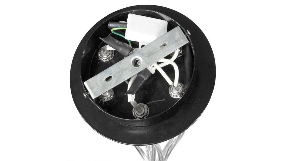 STEPH - Suspension design boules suspendues noire