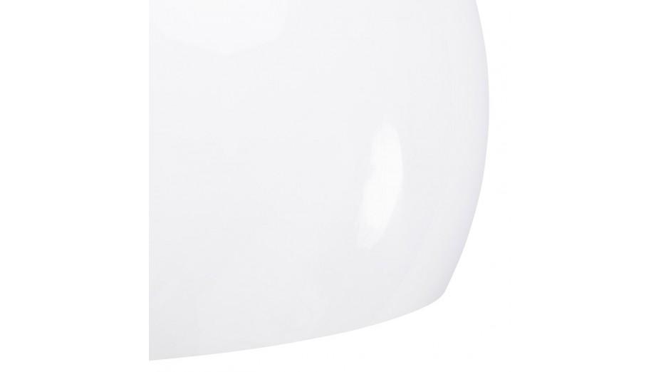 Luna - Suspension abat-jour boule blanche