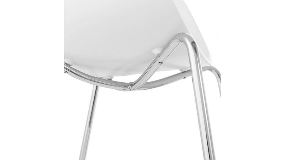 nat chaise design blanche. Black Bedroom Furniture Sets. Home Design Ideas