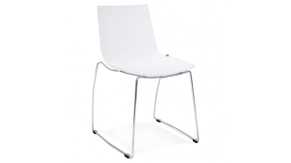 PHIL - Chaise blanche