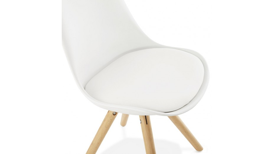 New chaise moderne blanche for Chaises blanches modernes