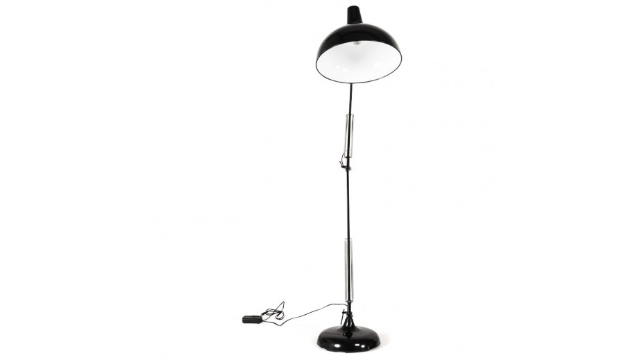 archi lampadaire moderne noir. Black Bedroom Furniture Sets. Home Design Ideas