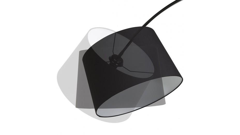 still lampadaire arqu noir. Black Bedroom Furniture Sets. Home Design Ideas