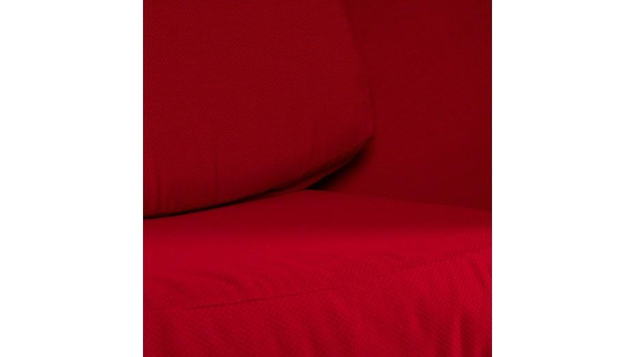 Ei - Fauteuil oeuf noir et rouge