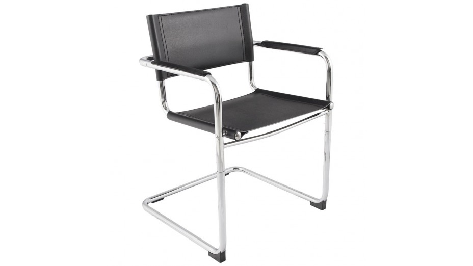 fauteuil moderne noir