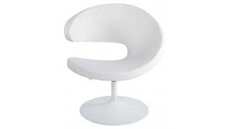 mudos fauteuil moderne simili cuir noir. Black Bedroom Furniture Sets. Home Design Ideas