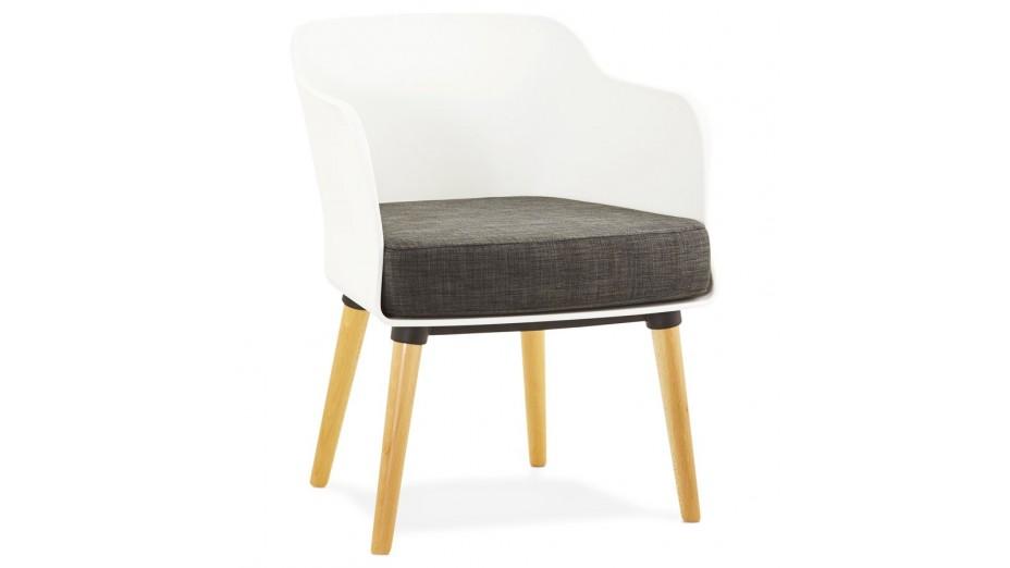 retro fauteuil moderne pied bois. Black Bedroom Furniture Sets. Home Design Ideas