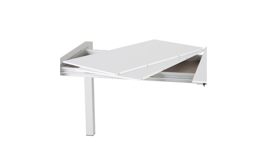 Table design extensible blanc laqu ruup - Table console extensible blanc laque design ...