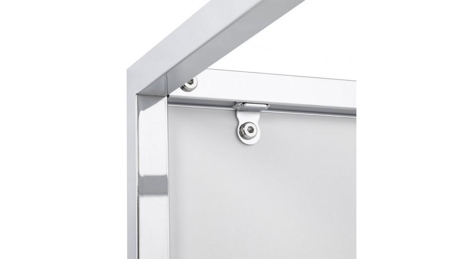 Square - Cube de rangement carrée empliable tablette blanche