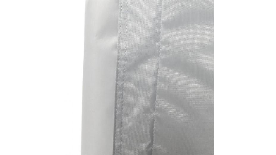 Crazy XL - Pouf géant gris clair 140x 180 cm