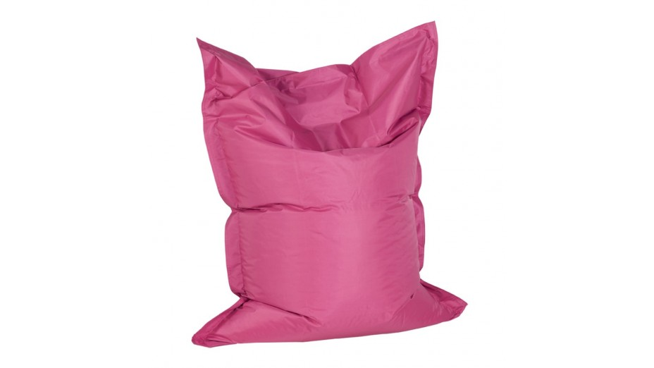 Crazy Samll - Pouf PM Rose 130 x 100 cm