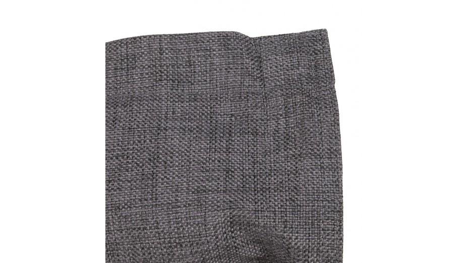 Cocoon - Pouf géant Tissu Gris anthracite 135 x 175