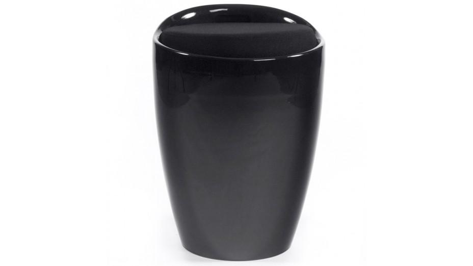Tab - Tabouret coffre Noir