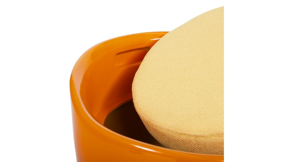 Tab - Tabouret coffre Orange