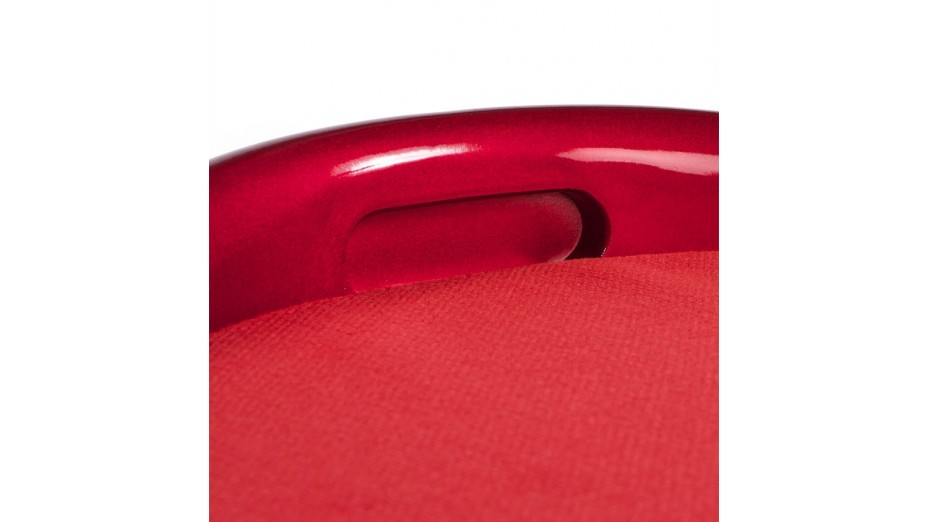 Tab - Tabouret coffre Rouge